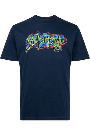 Supreme Scratch-print T-shirt