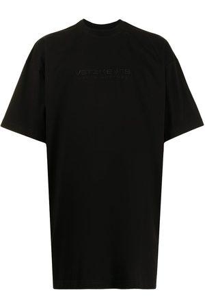 Vetements Homem T-shirts & Manga Curta - Oversized cotton T-shirt
