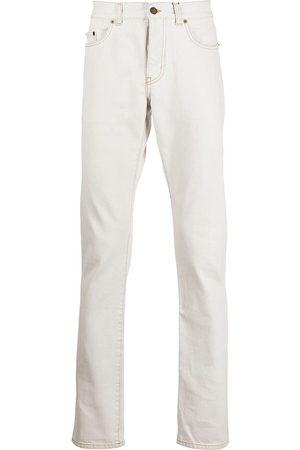 Saint Laurent Slim fit contrast stitch jeans
