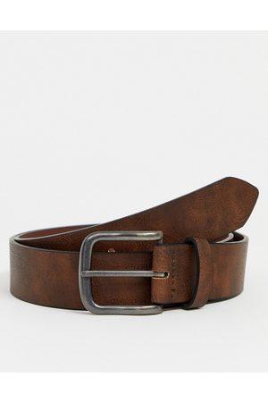 New Look Casual belt in brown