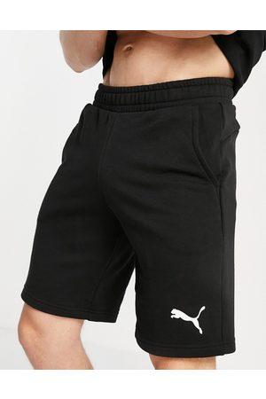 PUMA Essentials cat logo 10 inch shorts in black