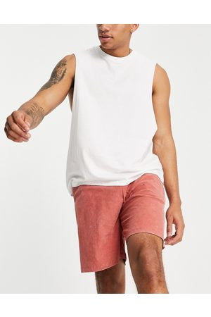 ASOS Relaxed lounge shorts in washed pink