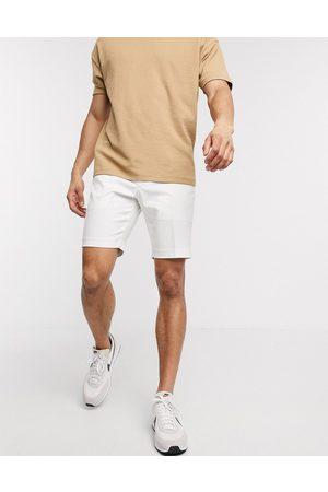 ASOS Slim fit smart shorts in white