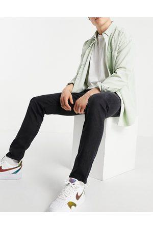 ASOS Homem Slim - Slim jeans in washed black