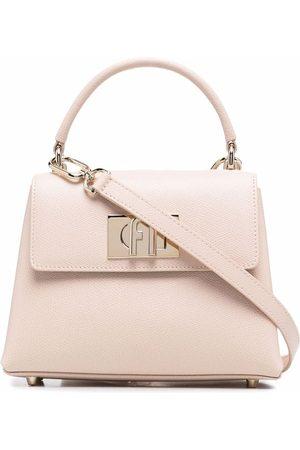 Furla Senhora Shoppers - 1927 leather tote bag