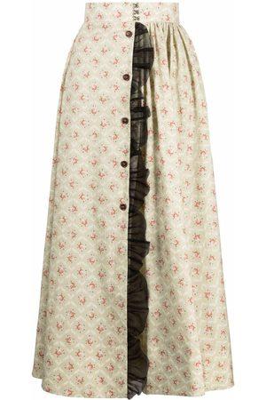 ULYANA SERGEENKO Floral-print maxi dress