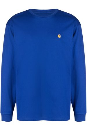 Carhartt Chase logo-embroidered long-sleeve top