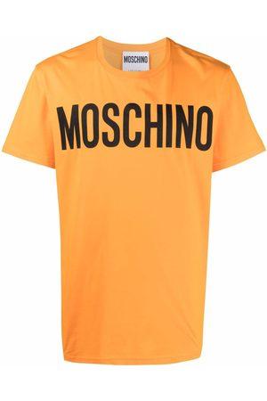 Moschino Homem T-shirts & Manga Curta - Logo-print short-sleeve T-shirt