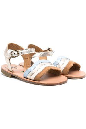 PèPè Roberta leather sandals