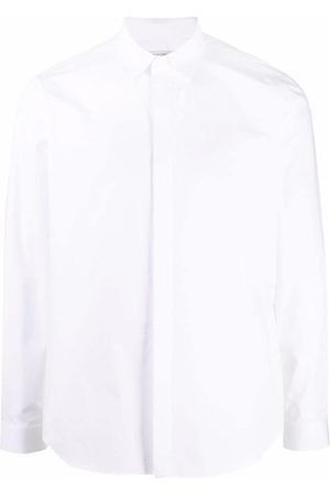Valentino Homem Formal - Concealed front button placket shirt