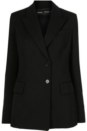 Proenza Schouler Senhora Blazers - Single-breasted wool blazer