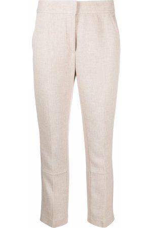 Tory Burch Button-cuff trousers