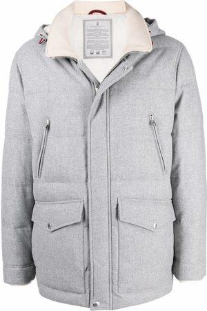 Brunello Cucinelli Hooded padded coat