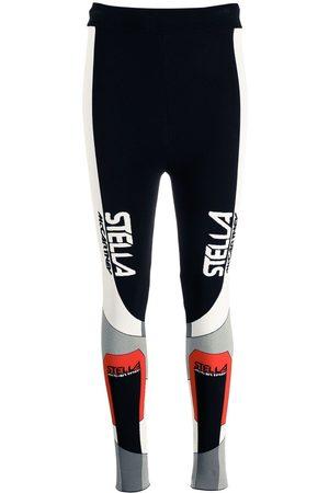 Stella McCartney Senhora Leggings - Sporty logo-print leggings