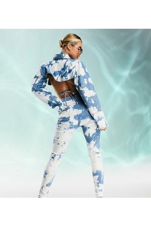 AsYou Co-ord skinny jean in tie dye-Multi