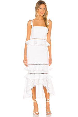 NBD Haze Midi Dress in - White. Size M (also in XL).