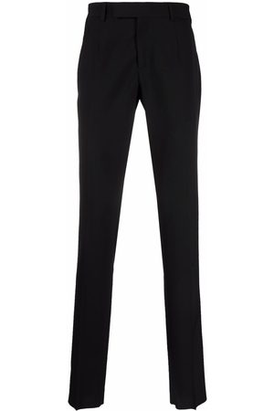 VERSACE Tailored wool trousers