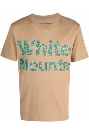 WHITE MOUNTAINEERING Logo-print cotton T-shirt