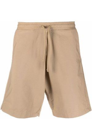 Universal Works Flared cotton shorts