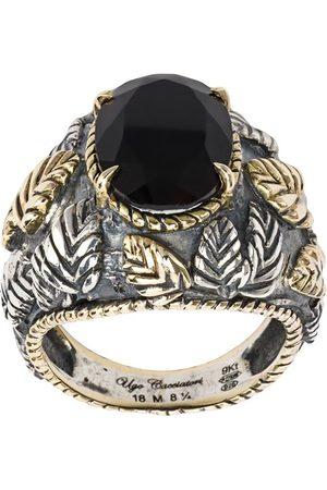 UGO CACCIATORI Homem Anéis - Leaf ring