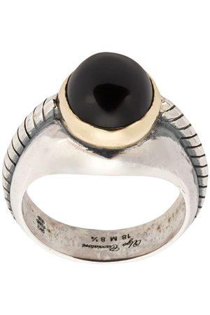 UGO CACCIATORI Onyx stone ring