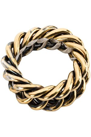 UGO CACCIATORI Woven interlocking ring