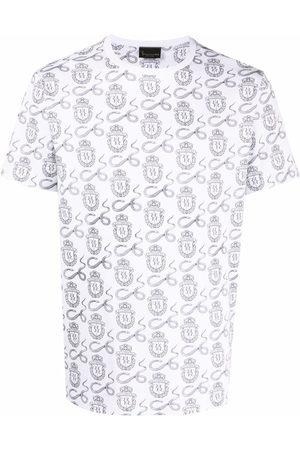 BILLIONAIRE Homem T-shirts & Manga Curta - Snake-print logo T-shirt