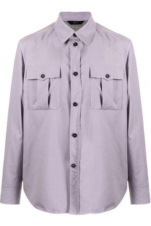 BRIONI Homem Formal - Pointed-collar shirt