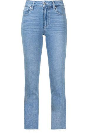 PAIGE Cindy raw hem jeans