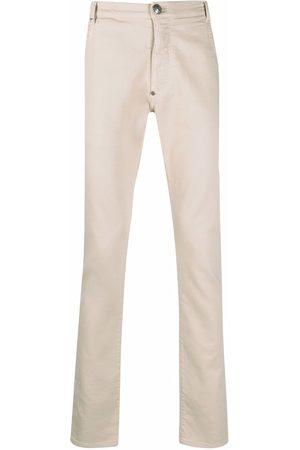 Philipp Plein Elasticated-waist denim jeans