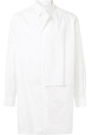 YOHJI YAMAMOTO Homem Casual - Oversized panelled shirt