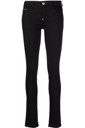 Philipp Plein Senhora Skinny - Low-rise skinny jeans