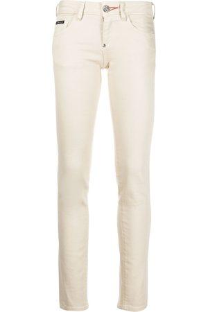 Philipp Plein Senhora Iconic slim-fit denim leggings