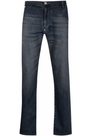 Philipp Plein Homem Slim - Slim-cut jogging jeans
