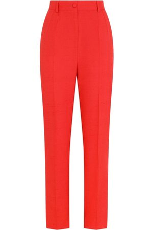 Dolce & Gabbana High-waist tailored suit trousers