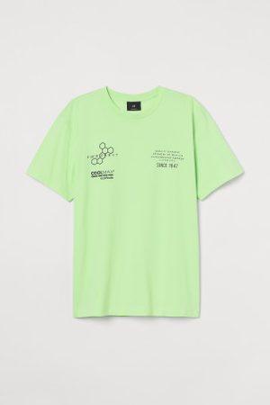 H&M Homem T-shirts & Manga Curta - T-shirt COOLMAX® Regular Fit