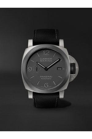 PANERAI Homem Relógios - Luminor Marina TuttoGrigio Automatic 44mm Titanium and Sportech Watch, Ref. No. PAM01662