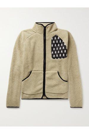 District Vision Homem Polares - Greg Shell-Trimmed Fleece Jacket