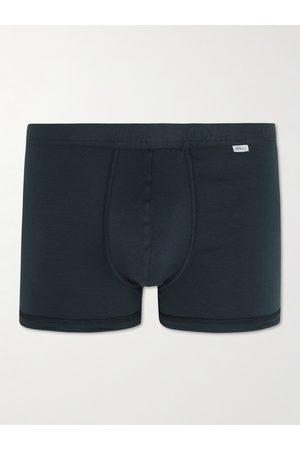 SCHIESSER Homem Boxers - Ribbed Stretch-Cotton Jersey Boxer Briefs