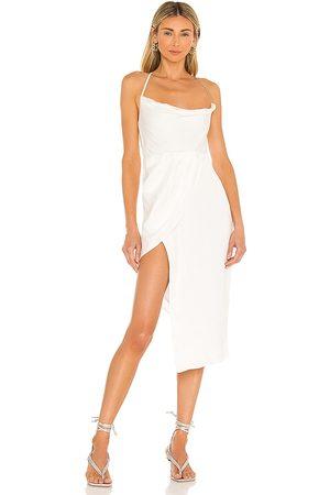Michael Costello X REVOLVE Tessa Midi Dress in - . Size L (also in XXS, XS, S, M, XL).