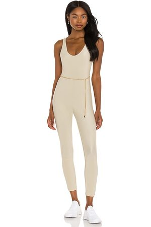 WeWoreWhat Scoop Jumpsuit in - Tan. Size L (also in XS).