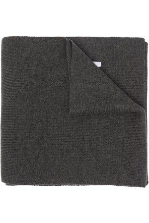Dsquared2 Homem Cachecóis & Echarpes - Embroidered-logo ribbed-knit scarf