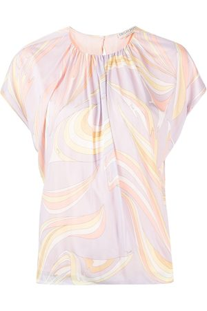Emilio Pucci Abstract-print T-shirt