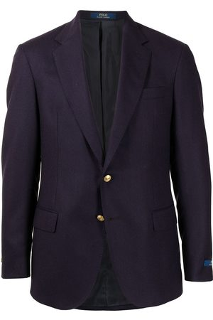 Polo Ralph Lauren Homem Blazers - Single-breasted wool blazer