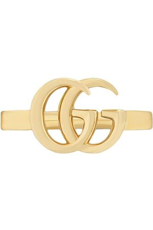 Gucci Senhora Anéis - 18kt yellow gold GG Running ring