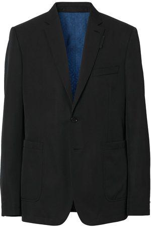 Burberry Single-breasted wool blazer