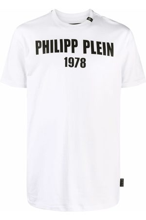 Philipp Plein Homem T-shirts & Manga Curta - Logo 1978 cotton T-shirt
