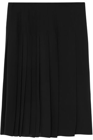 Burberry Pleated knee-length skirt