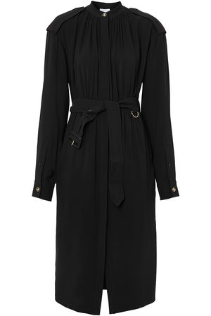 Burberry Senhora Vestidos Casual - Epaulette-detail silk dress