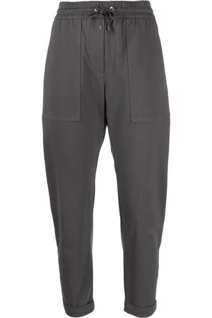 Brunello Cucinelli Cropped track pants
